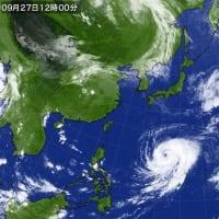 秋というか…初冬のようだ・・・( ̄  ̄;) うーん  そして台風16号は近づいてくる