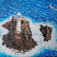 オーダー絵画 ファストネット灯台