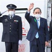 菅首相、帰国後も難題山積=待ち受けるコロナ・五輪・3選挙