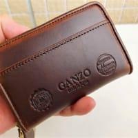 【革】GANZOの小銭入れをお財布に