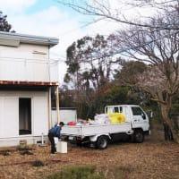 New!!プロジェクト いすみ市岬町江場土 『 ここからキューブHouse 』⌂Made in 外房の家。これをやらないと始まらない。。。残置物の処理が概ね完了!!しました。
