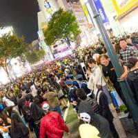 街は、ハロウイーンで盛り上がっている…でも新宿での以前のような狂気はないだろう。