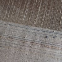 繋ぎ糸 の仕事—―『中野みどり紬織45周年記念展』に向けて