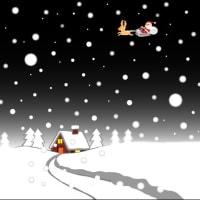 雪の日のクリスマス…
