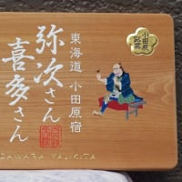 小田原の和菓子右京様の木彫看板