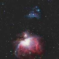 NGC1977「ランニングマン星雲」とオリオン大星雲