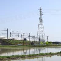 静岡県は磐田市付近通過 東海道新幹線N700S (2021年5月)