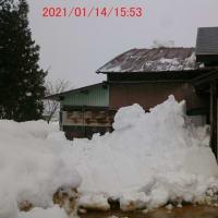 屋根雪はクリアに