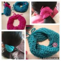 編み物ブーム。