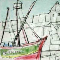 1955. ペニシェ要塞と漁船
