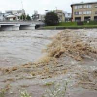 今朝、5時前の京都の雨…スマホに緊急情報も!