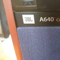 魅惑のJBL A640到着 白河 listの巻