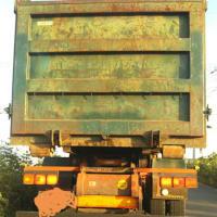 ユリママの大型トラックです(〃艸〃)