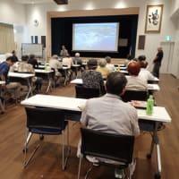 海砂採取の規制を求めて沖縄県に要請書を提出 /// 11月6日(水)、日退教沖縄交流団の学習会で講演