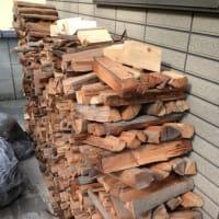 薪ストーブと薪作り