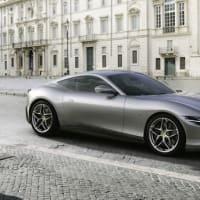 【フェラーリ】620馬力V8ツインターボ搭載の新型クーペ『ローマ』を発表!