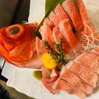 金目鯛の刺身|海鮮丼屋 海舟本店