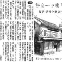 五條新町の「餅商一ツ橋跡 復活プロジェクト」公募締切は6月30日(水)!(2021 Topic)