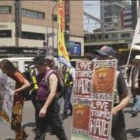 国民の受信料で70人の極左デモを取り上げるNHK。  一方で、昨年12月23日の平成の御代最後の「天長節」の数千人規模の奉祝大会(日比谷公園)は報じなかったNHK。