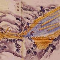【江戸期林業運送4 「官材川下」の山水水運】