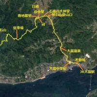 柳井市 琴石山登山コースに沿う史跡巡り(2/x)