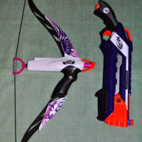 NERFは男子だけのものじゃない!NERF Rebelle HEATBREAKER BOW PHENIX