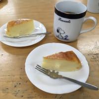 今日のおやつ☆スフレチーズケーキ