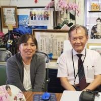 「日本アドバンス・システムOB来訪!」