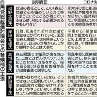 「説明しない政治」を改める姿勢は見えず 病床逼迫などの課題解決策も乏しく…自民党総裁選の公開討論会2021年9月19日 06時00分:東京新聞