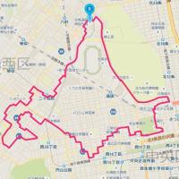 【GPSアート】北海道マラソン in Sapporo