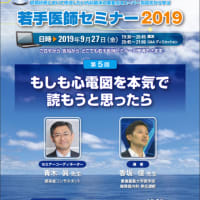 若手医師セミナー2019 心電図 香坂先生 Q&A