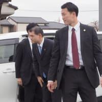 柴山大臣 ご臨席の出発式