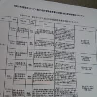 福祉サービス第三者評価調査者の研修!