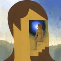 「私ではない誰か」64(アクリル画)