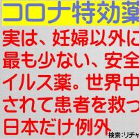 アビガンを医療現場に出さない厚労省のテロリストを内乱罪でで逮捕せよ! 今、日本に必要なのは、緊急事態宣言ではない!アビガンである!