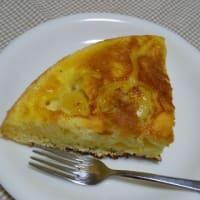ホットケーキミックスのカラメルバナナケーキ