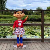 「ペコちゃんがやってくる 花と緑のガーデン・パーティー」 花菜ガーデンにて開催中