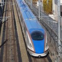 新幹線(12/9):E7系F30編成長野回送