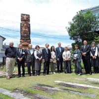 ヤング駐日米国大使がアメ村来訪  スイカ産地視察(御坊市)道成寺参拝(日高川町)も 〈2021年6月8日〉