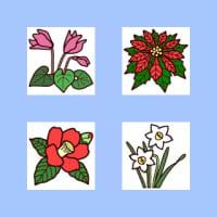 「冬の花・植物1」(花・植物/ミニカット)