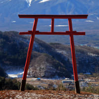 鳥居と富士山