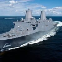 中国が香港寄港拒んだ米海軍艦船、台湾海峡を航行