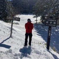 双子池ヒュッテ 2021.1.4 双子池と西麓からの八ヶ岳