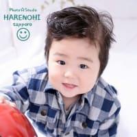4/15  お誕生日記念撮影・自然光でね♫ 札幌写真館ハレノヒ