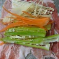 おばさんの料理教室No.3669オクラと生姜の豚肉巻き