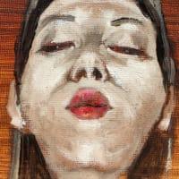 Nude-Muse-angel-Tableau-ヌード-芸術-アート-絵画:ぶちゅっー