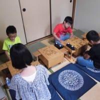8月18日の教室風景