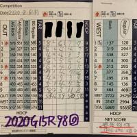 今日のゴルフ挑戦記(317)/東名厚木CC ウエスト→アウト(A)