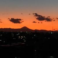 美しい夕焼けのとき