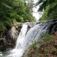 八ヶ岳山麓の多留姫の滝